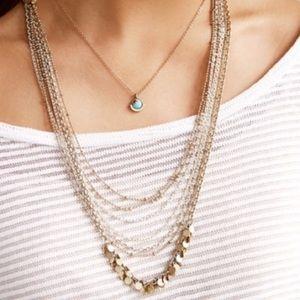 Chloe and Isabel Positano fringe necklace